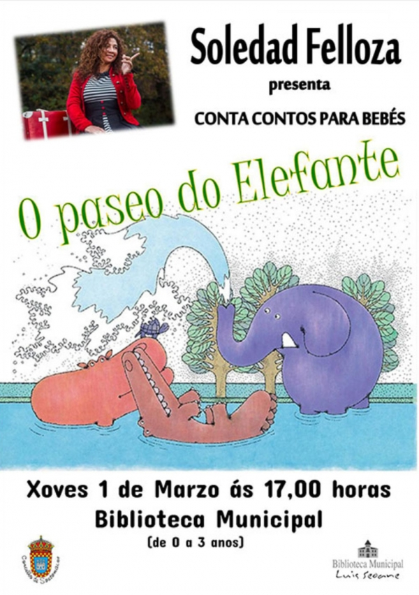 Contacontos: O Paseo do elefante